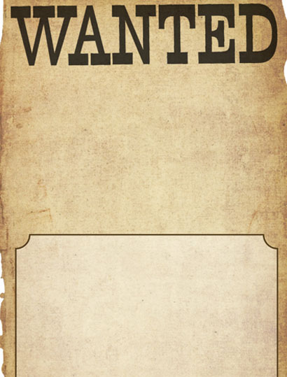 Doc637188 Wanted Sign Font Doc700240 Wanted Poster Caps Font – Free Wanted Poster Template for Kids