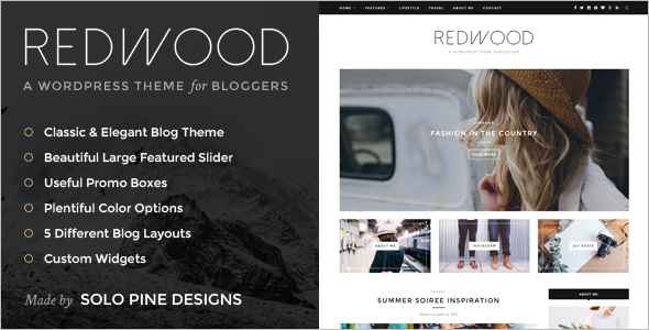 Blog Magzane WordPress template