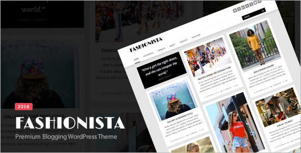 Blogging Pinboard WordPress Template