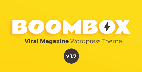 BoomBox Creative WordPress Theme