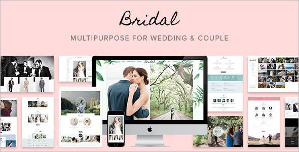 Bridal Wedding WordPress Template