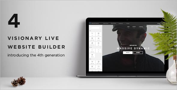 Builder WordPress Website Template