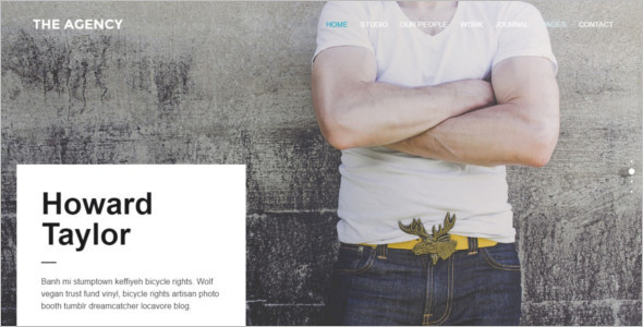 Business Agency WordPress Template