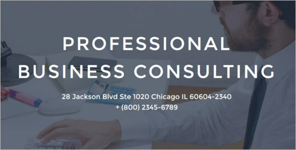 Business Consulting WordPress Template