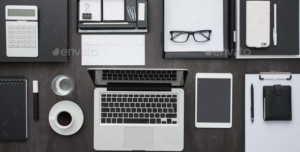 Business Desktop Digital Banner Background