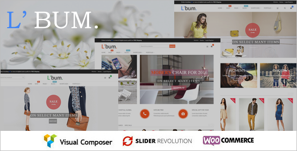Business WooCommerce WordPress Template