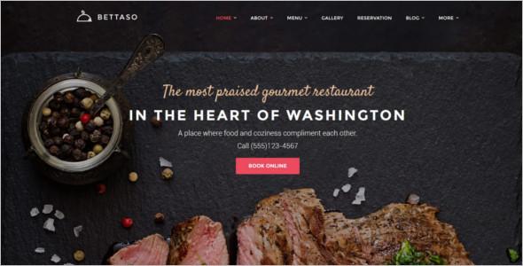 Cafe & Restaurant WordPress Template