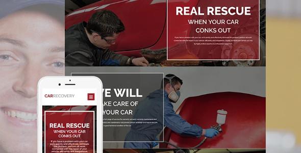 Car Repair Responsive Moto CMS 3 Template