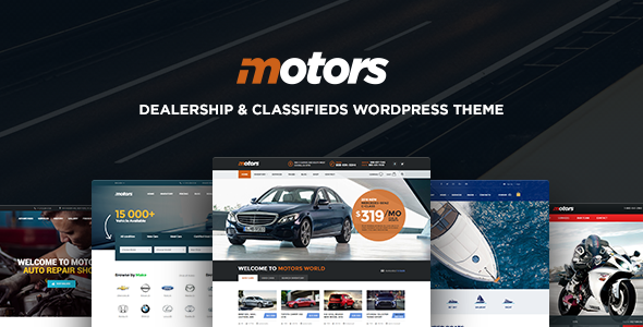 Cars Vehicle Boat WordPress Theme