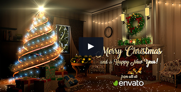 Christmas Holiday Easy Customizing Video