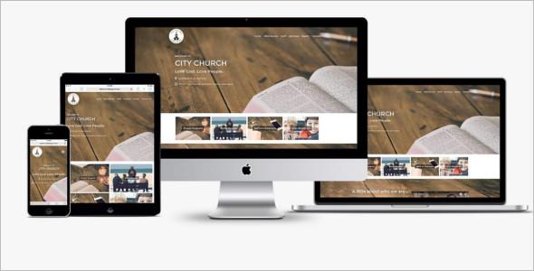Church Podcast WordPress Template