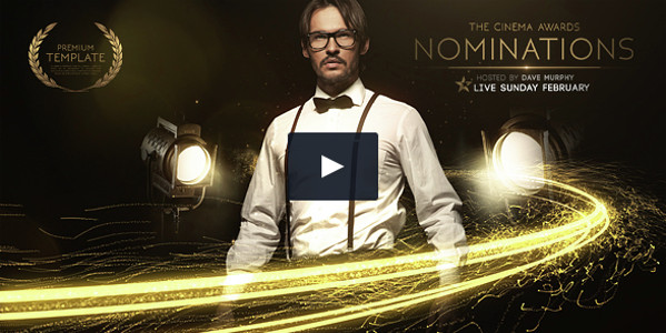 Cinema Awards Promo After Effects Template