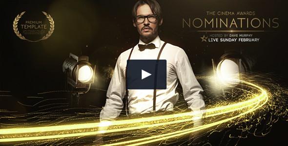 Cinema Awards Promo Video Tutorial Template