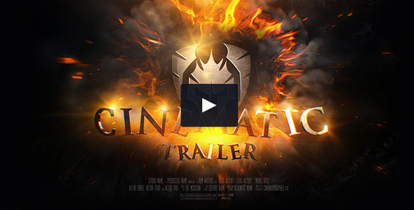 Cinematic Trailer high quality template