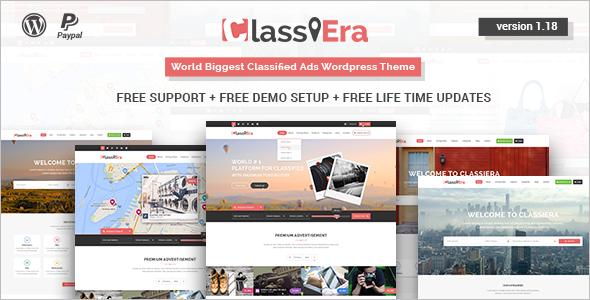 Classified Ads WordPress Template