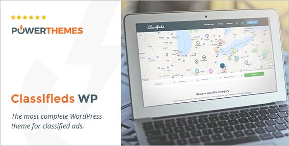 Classified Advertising WordPress Template
