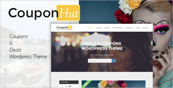 Classified Coupans WordPress Template
