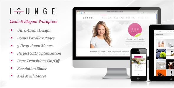 Clean Elegant WordPress Template