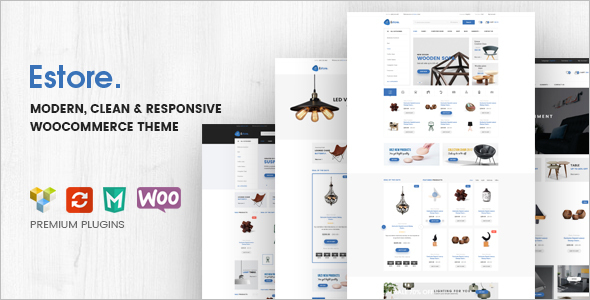 Clean WooCommerce WordPress Template