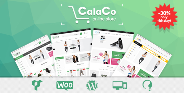 Clothing WooCommerce WordPress Template