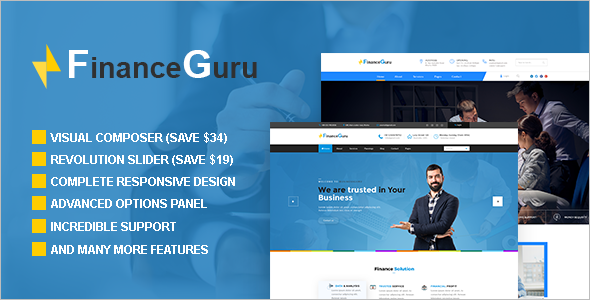 Consulting Business WordPress Template