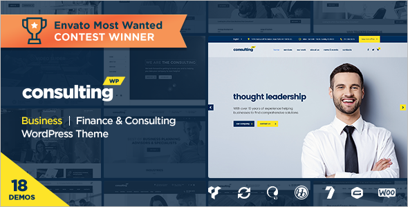 Consulting Sell WordPress Template