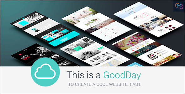 Cool Music WordPress Template