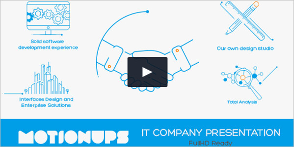 Corporate Company Presentation Video Template