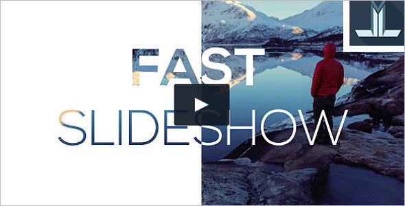 Corporate Fast Slideshow modern After Effects Template