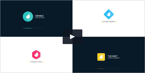 Corporate Logo Reveal Dynamic Video Template