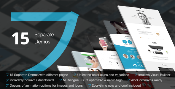 Corporate Multipurpose WordPress Template