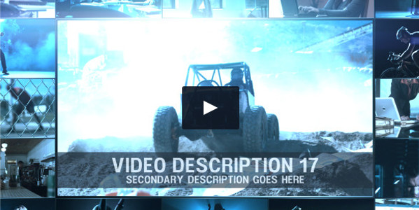 Corporate Video Wall Promo Template