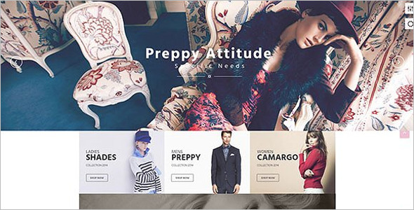 Creative Boutique Website Template