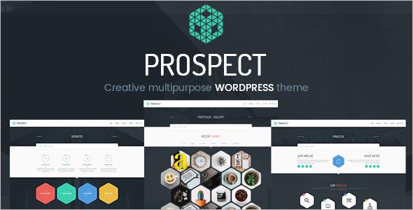 Creative Digital Agency WordPress Template