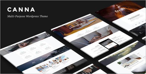 Creative Elegant WordPress Template