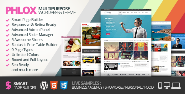 Creative Flexible WordPress Template