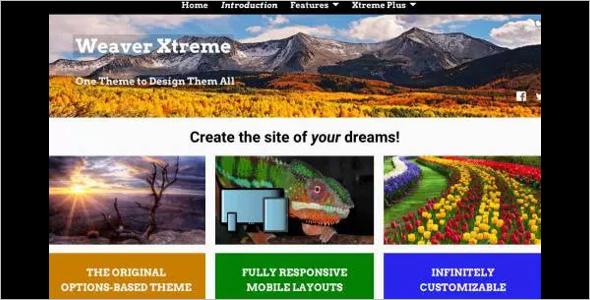 Creative Godaddy WordPress Template