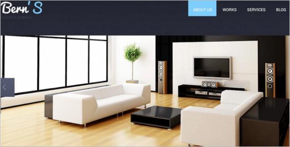 20 interior design website templates free premium for Interior design websites free
