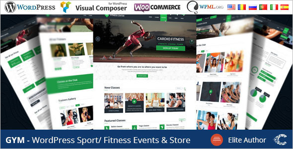 Creative Martial Art WordPress Template