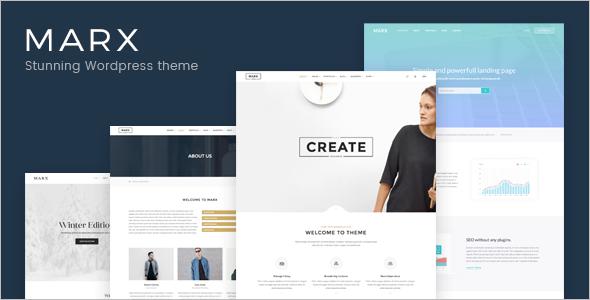 Creative Shopping WordPress Template