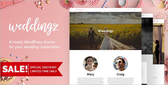 Creative Wedding WordPress Template