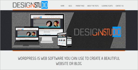Custom Menu Open Source WordPress Theme