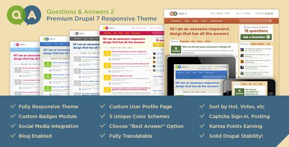 Custom Multi-Drupal WordPress Theme