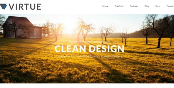 Customize Free Website Template