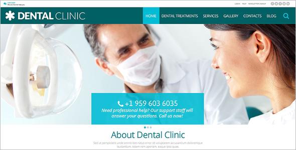 Dental Medical Clinic WordPress Theme