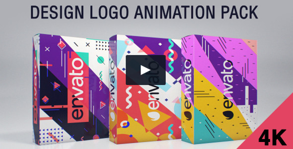 Design Logo Animation Pack Infographic Template