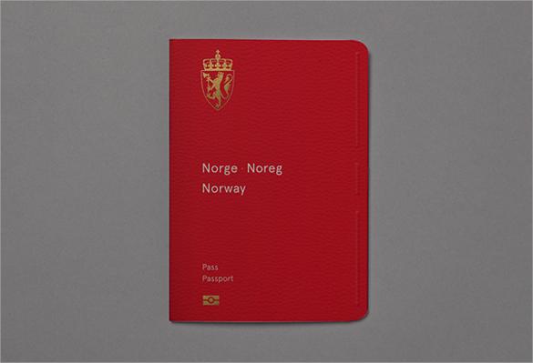 Design New passport Template
