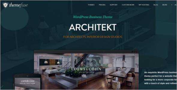 Design Studio Business WordPress Template