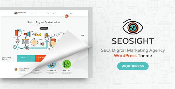 Digital Agency SEO WordPress Template