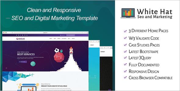 Digital Business WordPress Template